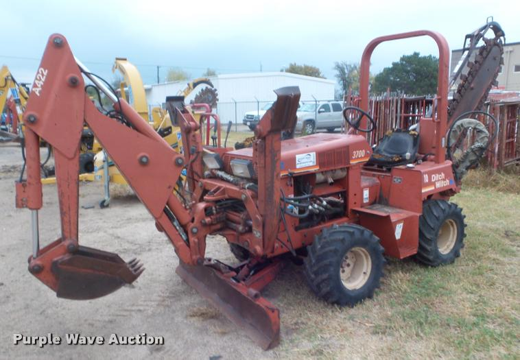 Ditch Witch 3700 trencher | Item DB3613 | SOLD! December 13