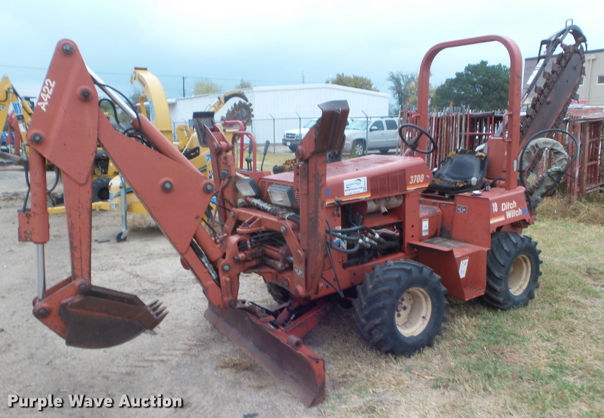 Ditch witch 3700 service manual open source user manual ditch witch 3700 trencher item db3613 sold december 13 rh purplewave com ditch witch 1230 parts fandeluxe Images