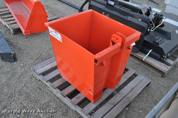 Kubota Ballast Box : Kubota ballast box item l sold december morris