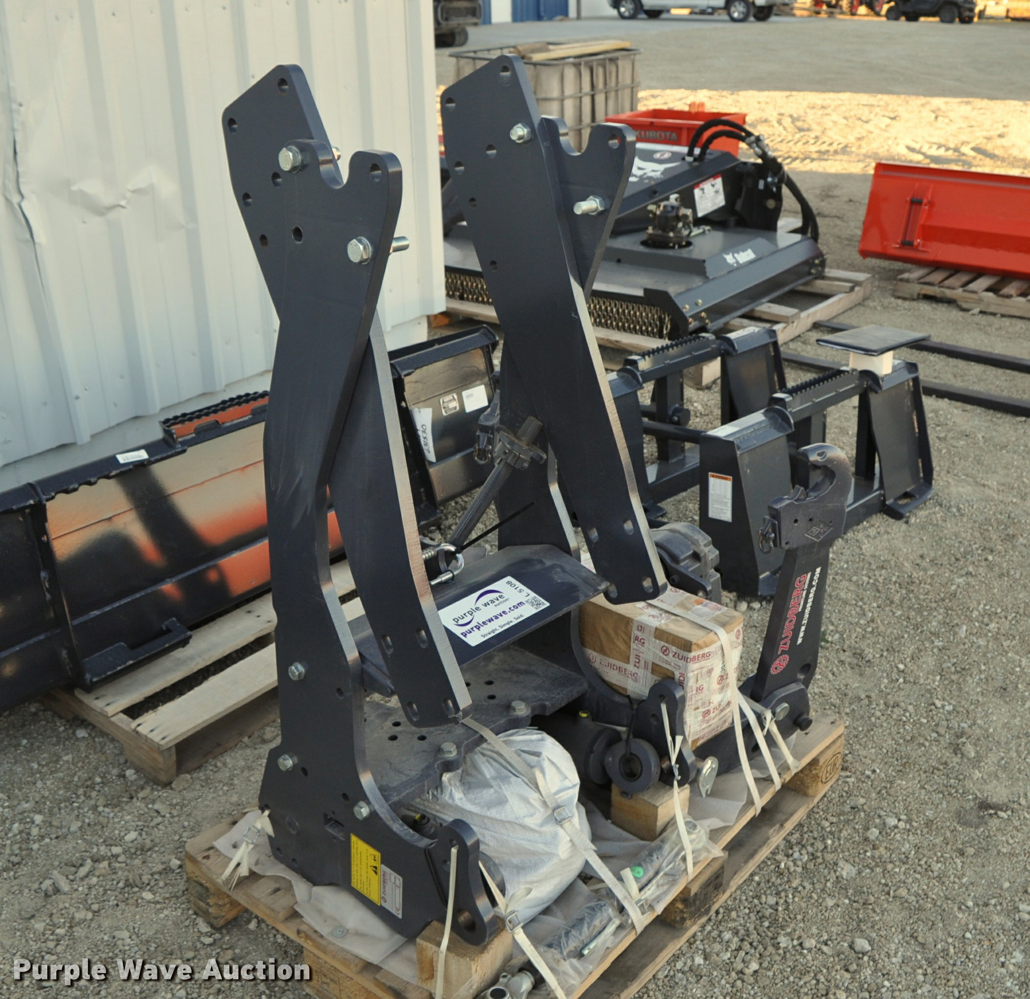 Kubota front mounted three point and PTO | Item L5108 | SOLD