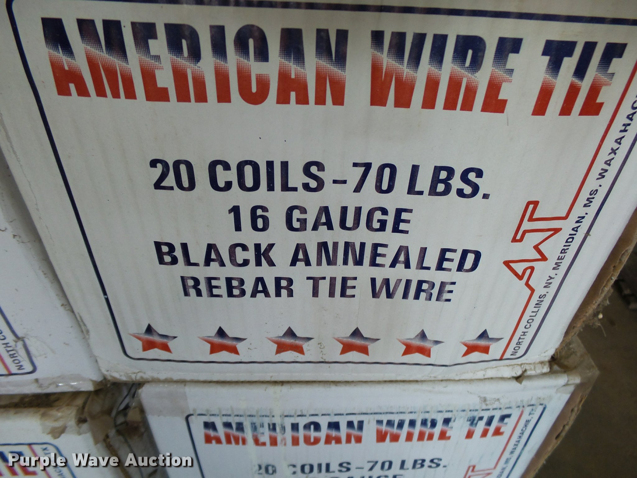 Black annealed Ty-Wire | Item BM9601 | SOLD! December 14 Veh...