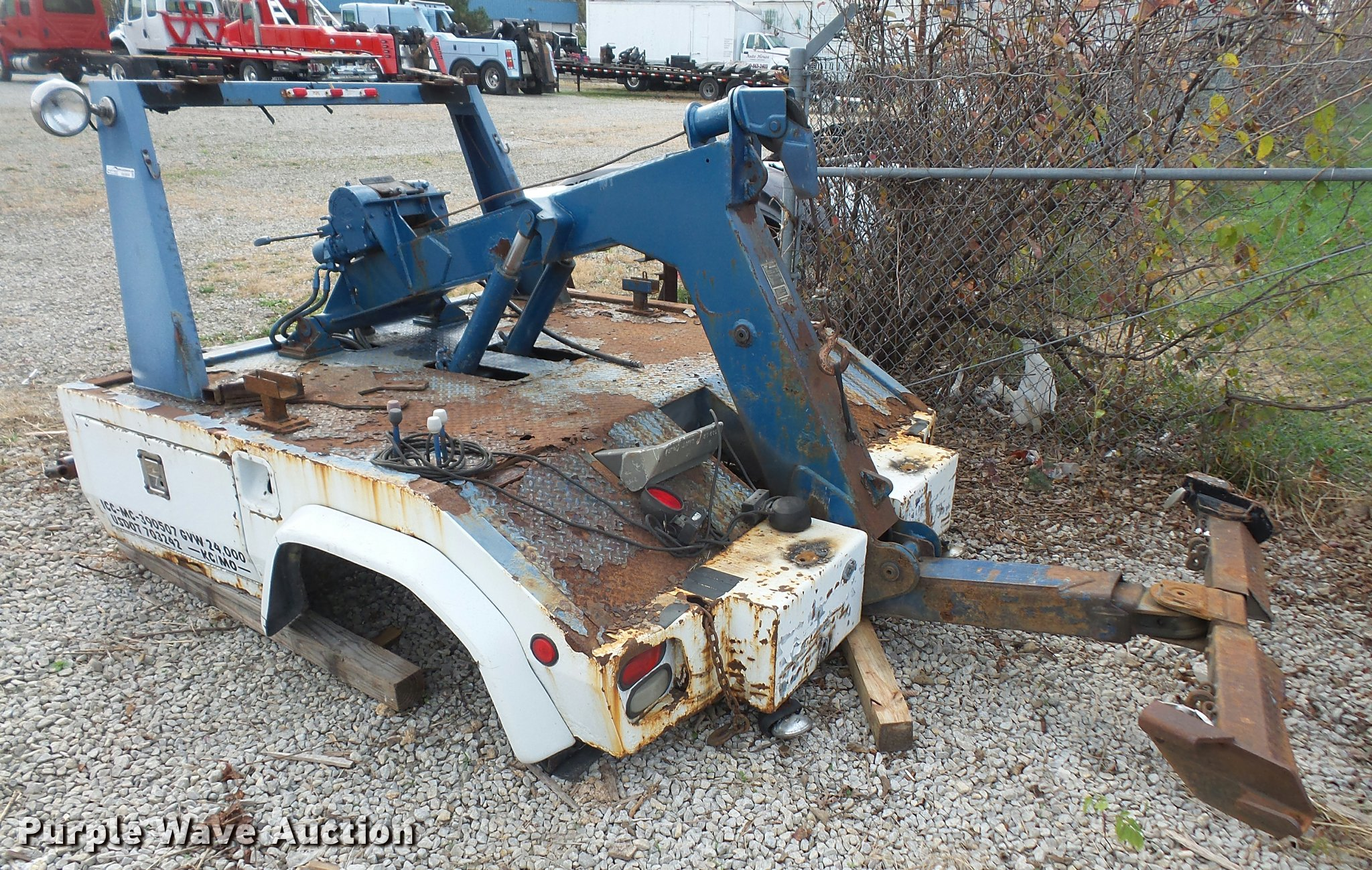 Century 211 tow truck bed | Item BW9550 | SOLD! December 14