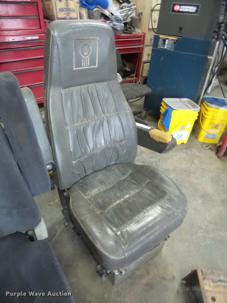 2) air ride seats | Item BW9635 | SOLD! December 15 Truck a