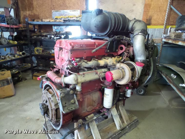 Cummins ISX six cylinder turbo diesel engine   Item DA2973  
