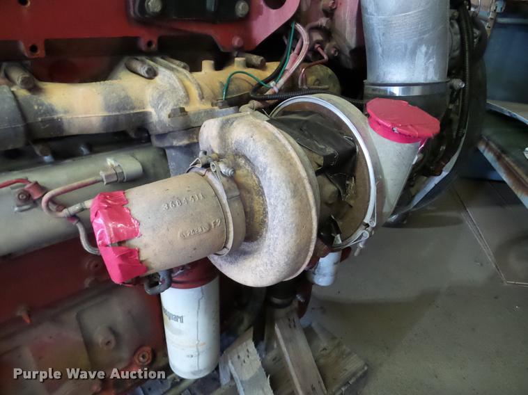 Cummins ISX six cylinder turbo diesel engine | Item DA2973 |