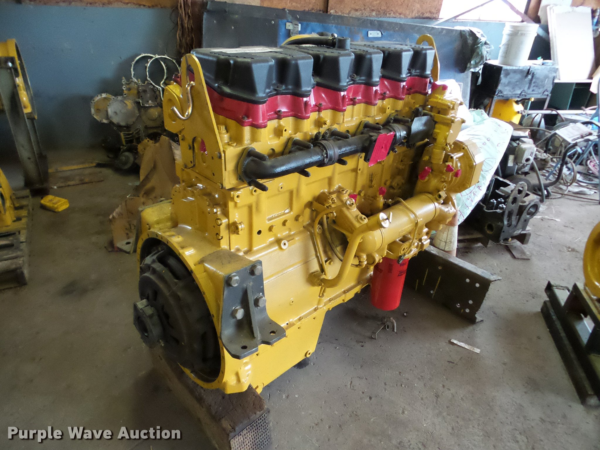 Da2978 Image For Item Da2978 Caterpillar C15 5ek Six Cylindersel Engine