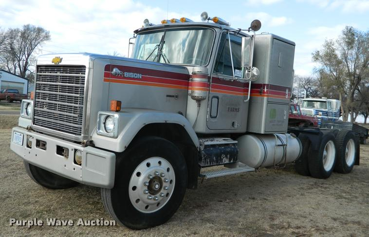 1979 Chevrolet Bison Double-O 92 semi truck | Item DA5068