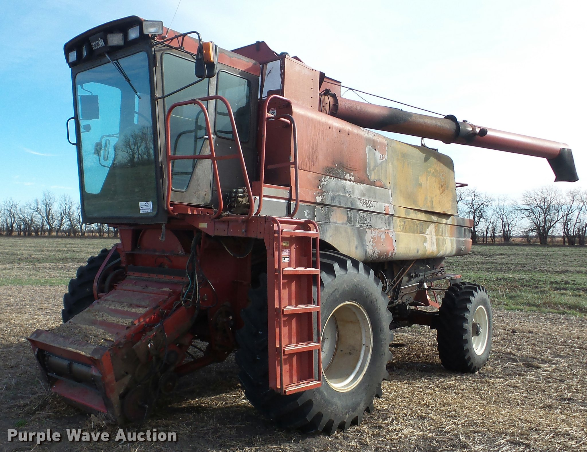 DA2117 image for item DA2117 1990 Case IH 1680 Axial Flow combine