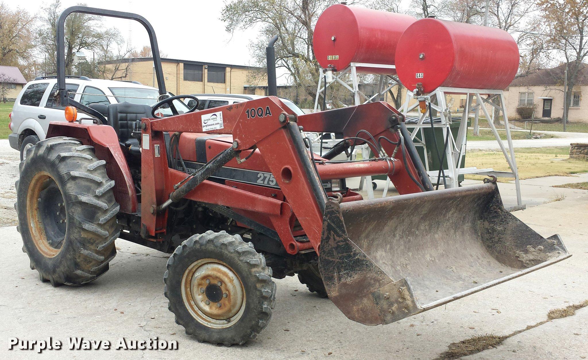 J5740 image for item J5740 1987 Case IH 275 ...
