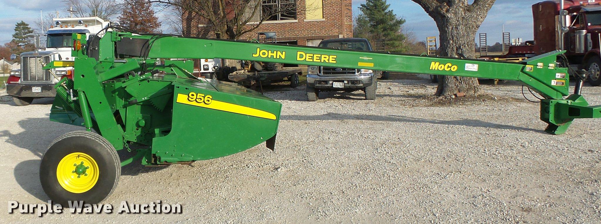 2013 John Deere 956 disc mower conditioner | Item K5523 | SO
