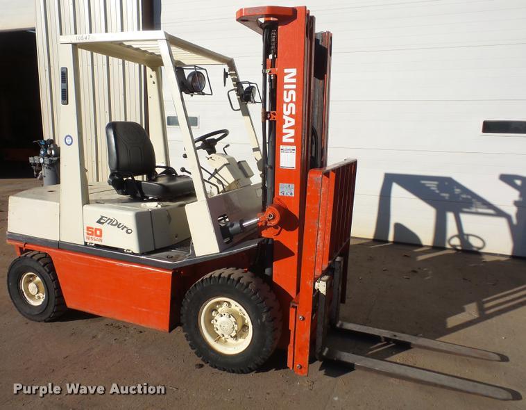 DB2779 Image For Item Nissan 50 Forklift