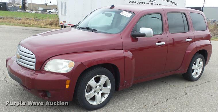 2007 Chevrolet Hhr Lt In Manhattan Ks Item J5730 Sold Purple Wave