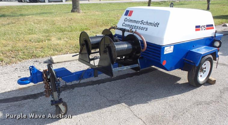 db2773 image for item db2773 grimmer schmidt 175 air compressor