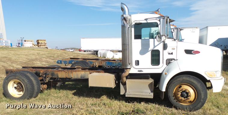2009 Peterbilt 335 truck cab and chassis | Item L3308 | SOLD