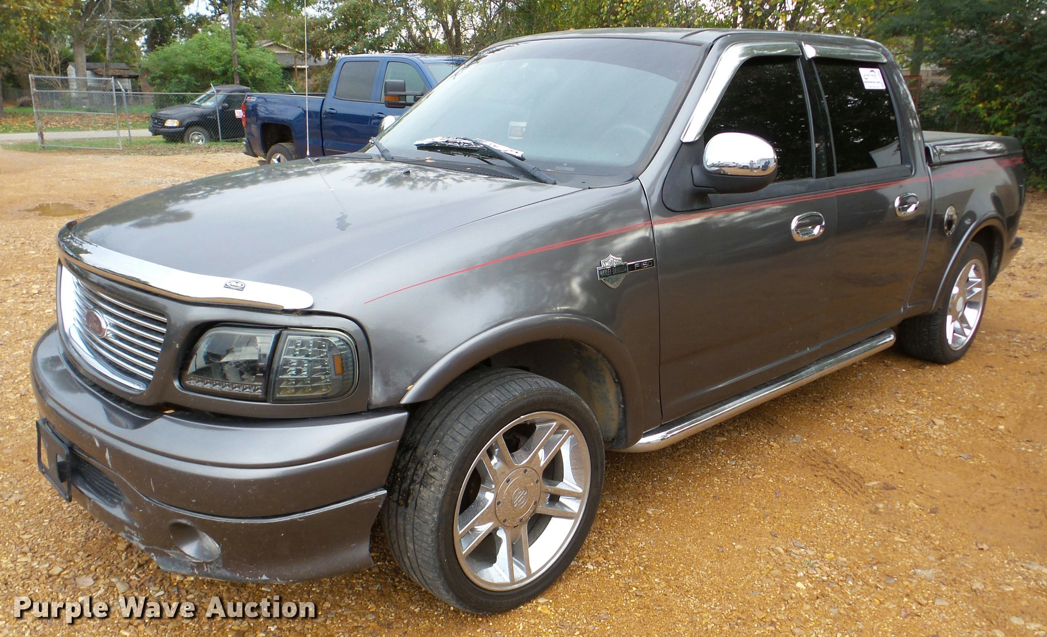 2002 Ford F150 Harley Davidson SuperCrew pickup truck | Item...