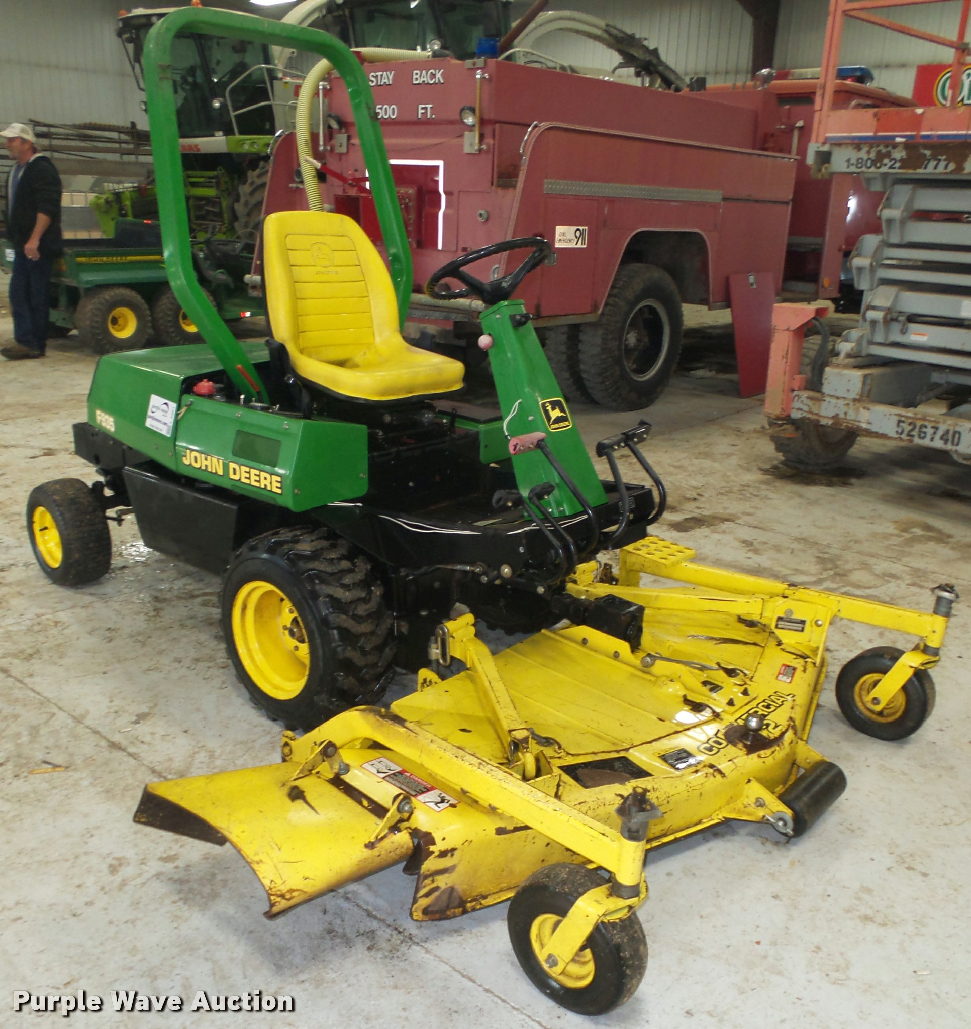 John Deere F935 ZTR lawn mower | Item L4201 | SOLD! January