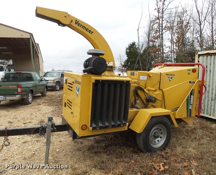 2010 Vermeer BC1000XL wood chipper   Item J8999   SOLD! Janu