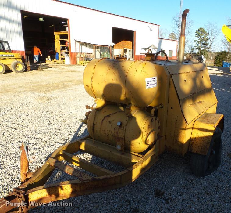 Ingersoll Rand GRR160 Air Compressor Item K3408 SOLD Ja