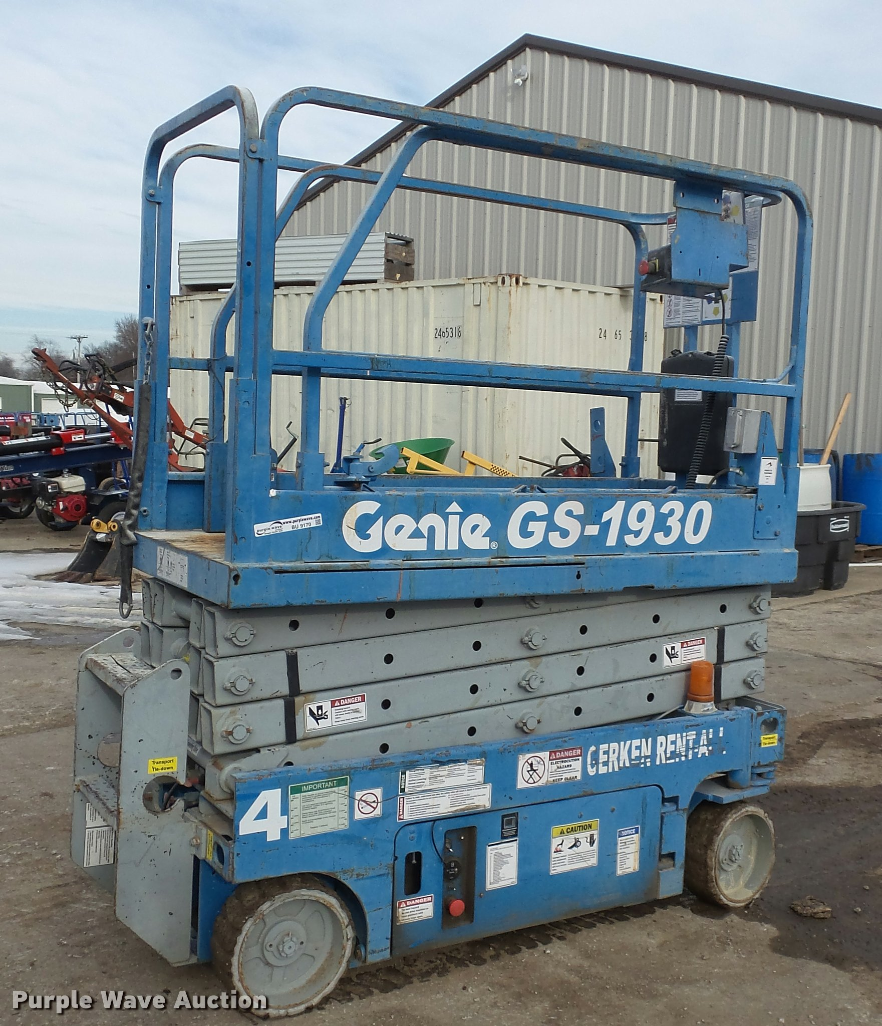 Genie GS1930 scissor lift | Item BU9170 | SOLD! January 19 C