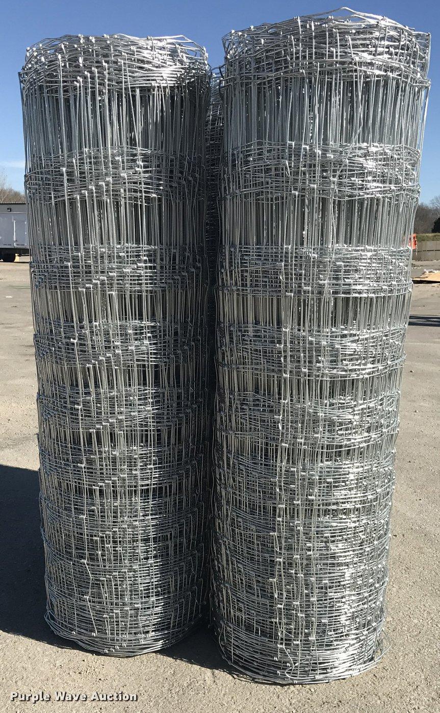 5) rolls of class 1 field fence | Item F1910 | SOLD! Januar...