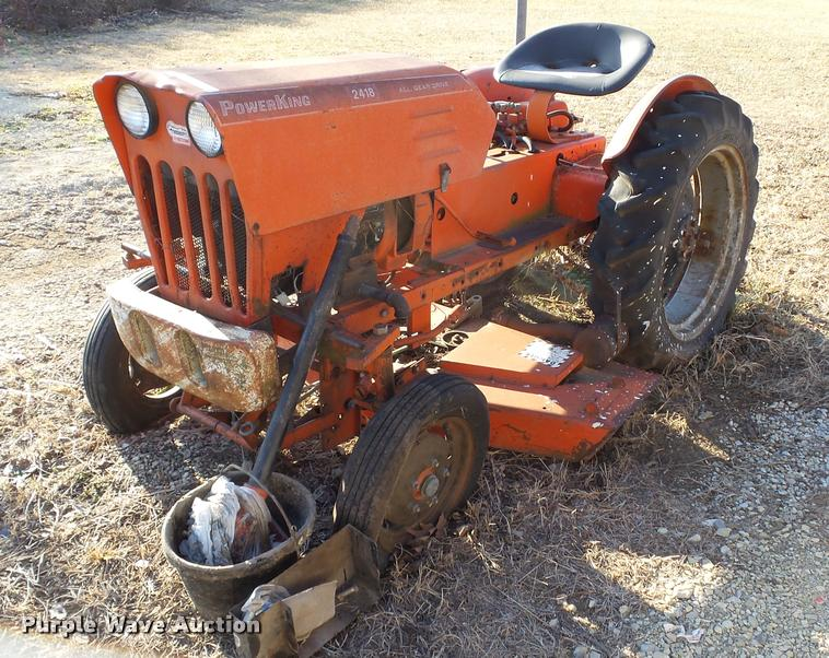 Power King 2418 Tractor Item Bu9188 Sold February 1