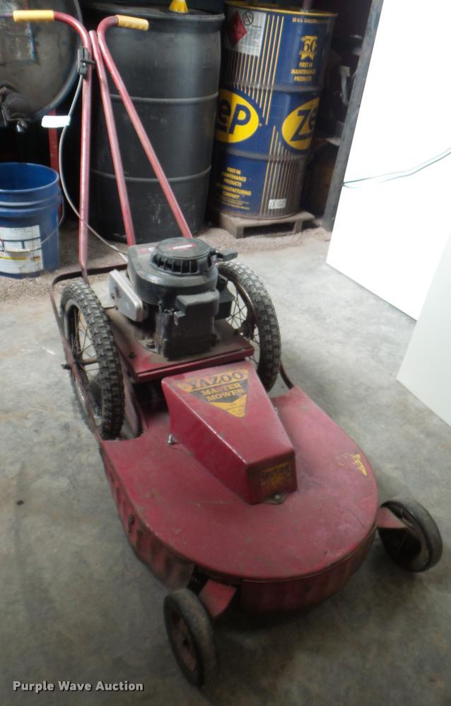 Yazoo Master Lawn Mower Item Dg9268 Sold February 1