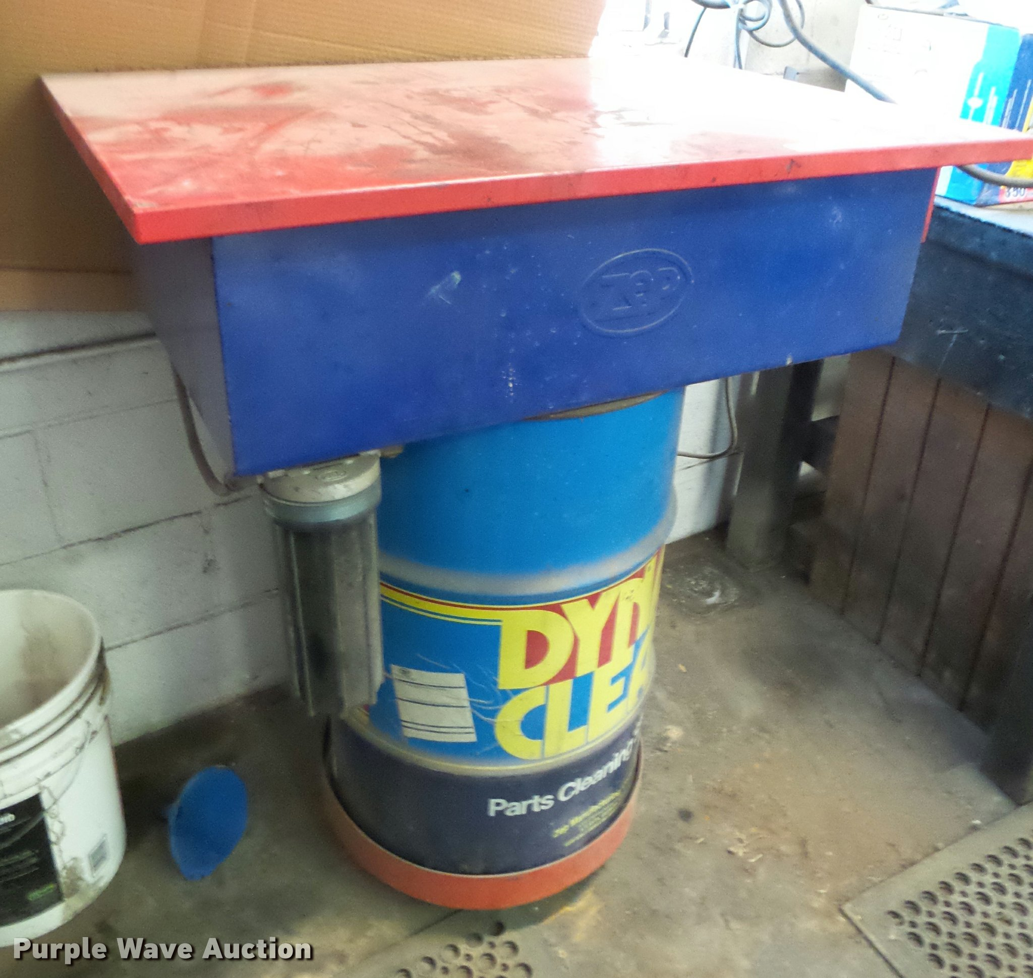 Zep Dyna Clean parts washer | Item DF9564 | SOLD! February 1
