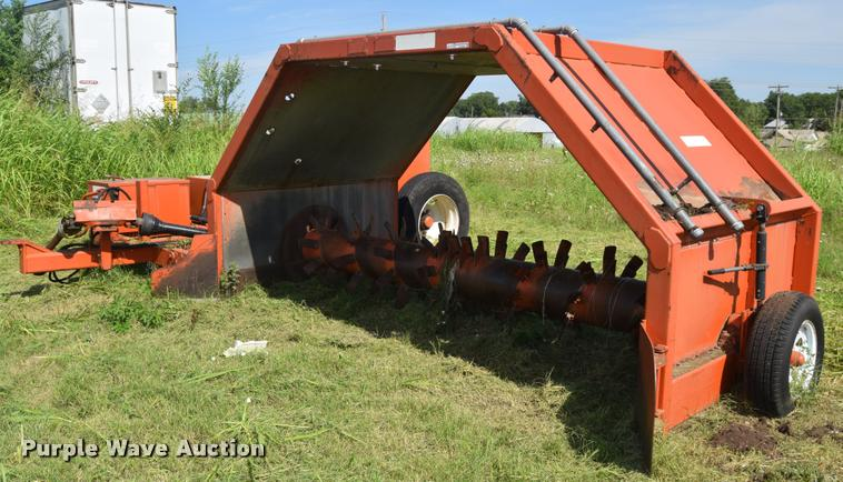 Hcl Machine Works Compost Turner Item Cb9066 2 7 2017