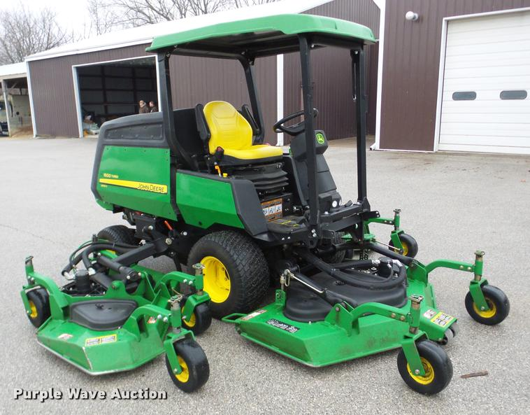 2013 john deere 1600 turbo series ii wide area mower item rh purplewave com John Deere Lawn Mowers Aftermarket John Deere Mower Decks