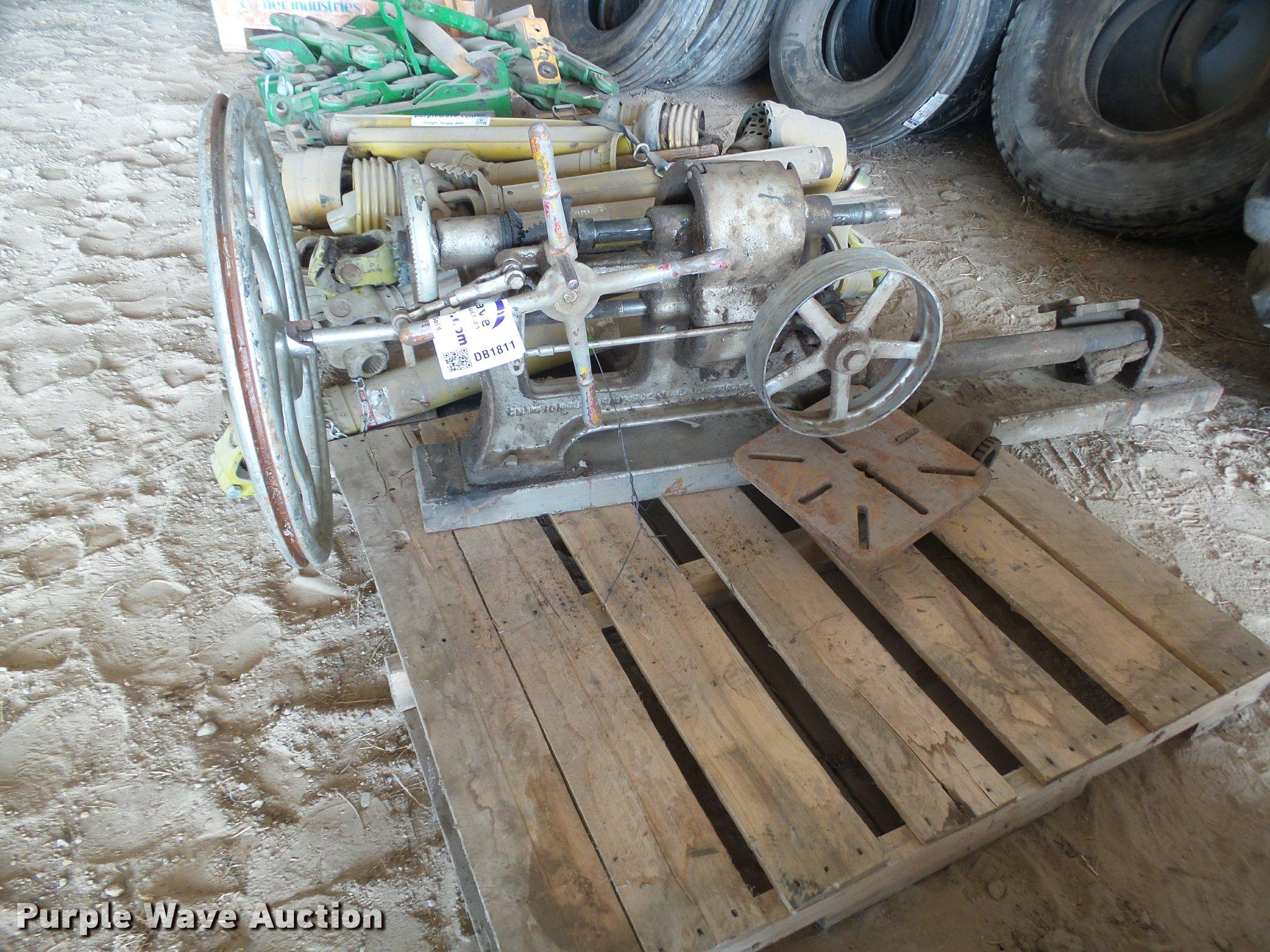 Champion Blower Forge drill press | Item DB1811 | SOLD! Febr