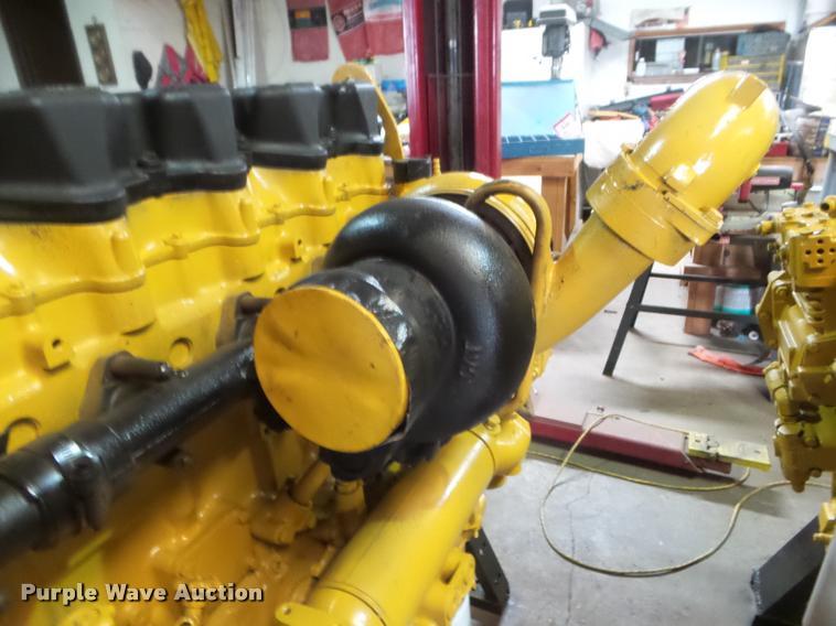 Caterpillar 3406E 2WS six cylinder turbo diesel engine | Ite