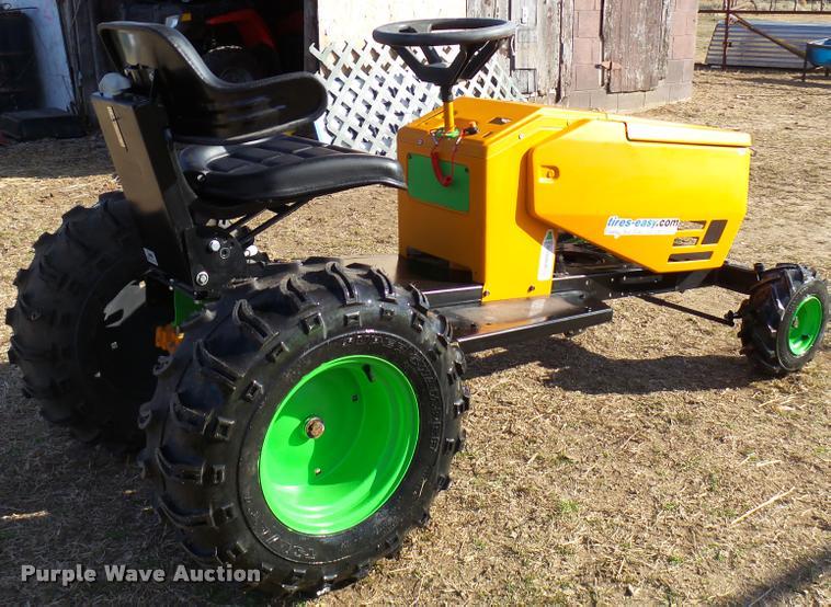 Craftsman Mtd Drag Racing Lawn Mower Item Dg9530 Sold F