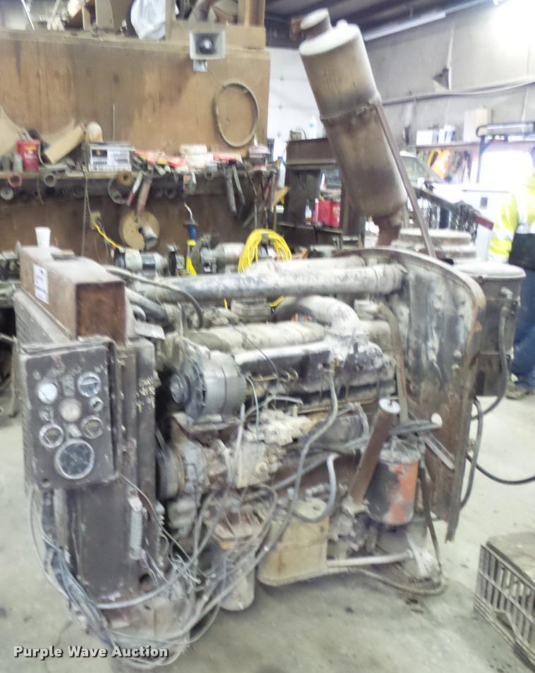 Cummins C180 Turbo Diesel Engine Item L7234 Sold