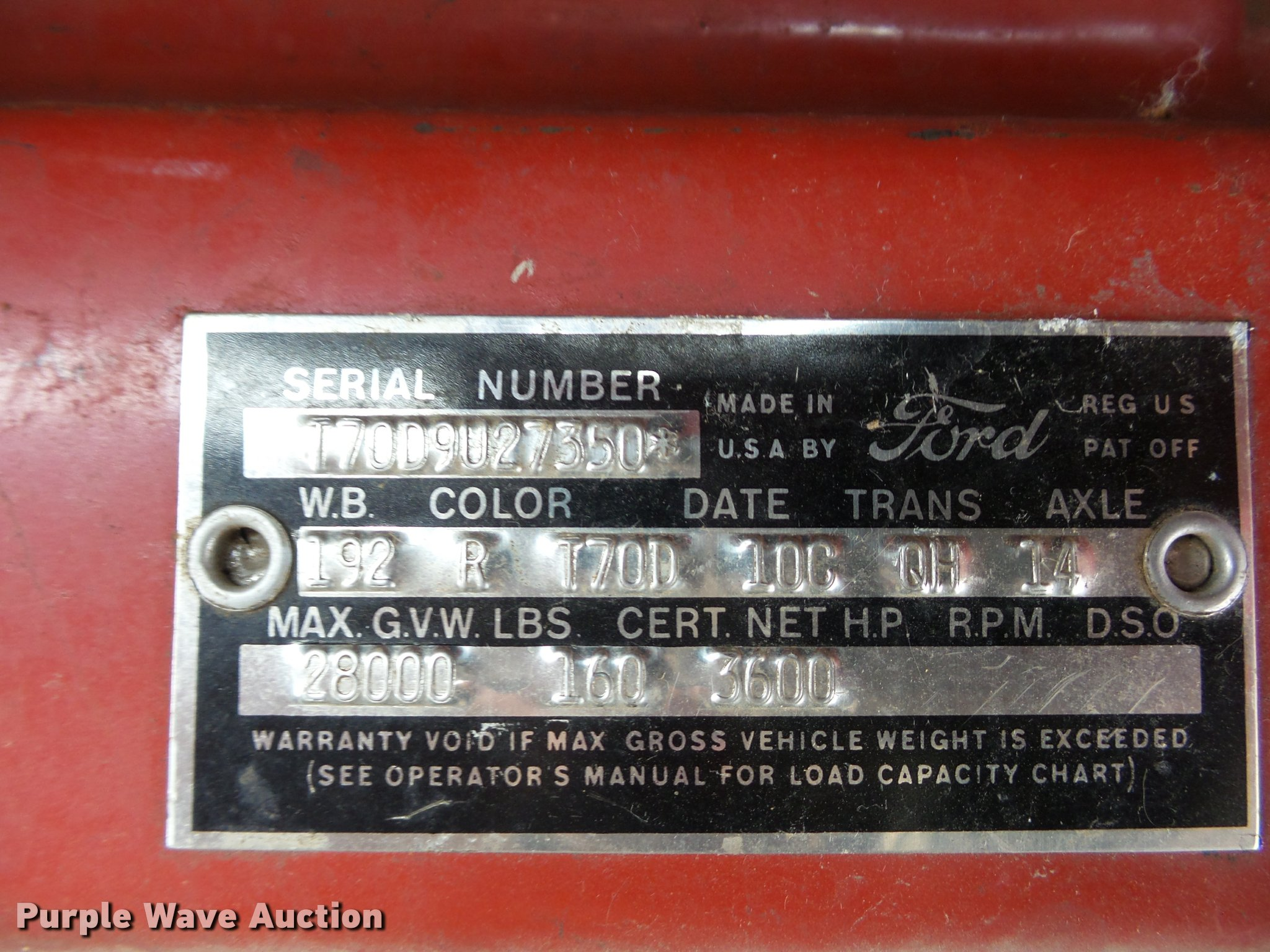 1959 ford t700 grain truck item da5770 sold february 15 full size in new window nvjuhfo Image collections