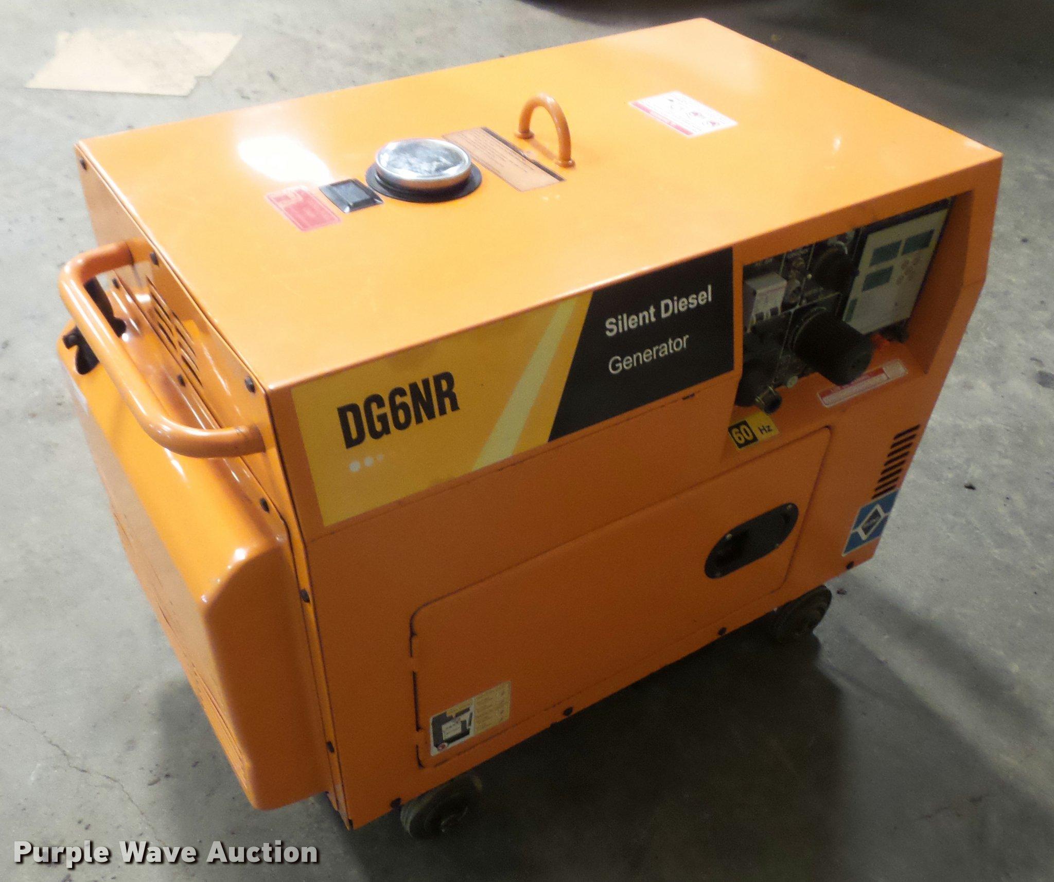 Deyong DG6NR generator Item DB2905
