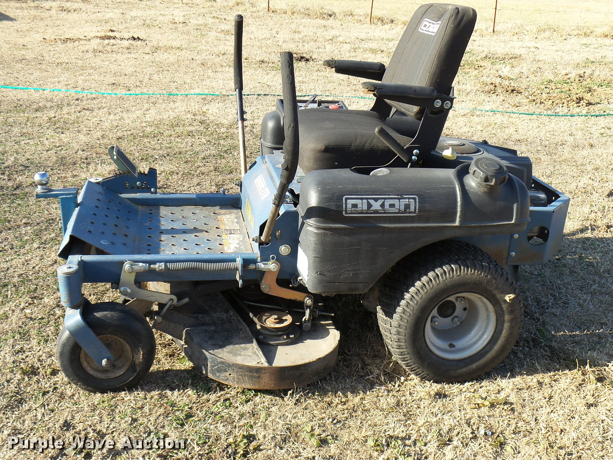 dixon ram 44 ztr lawn mower item dg9531 sold february 1
