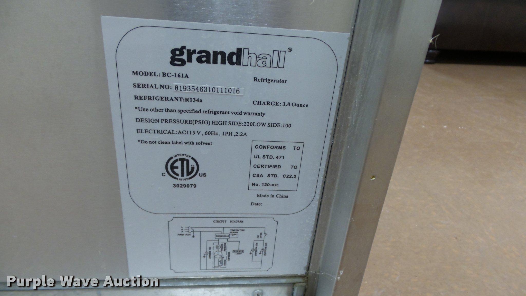 Turbo BC-161A outdoor refrigerator   Item BU9237   SOLD! Feb...