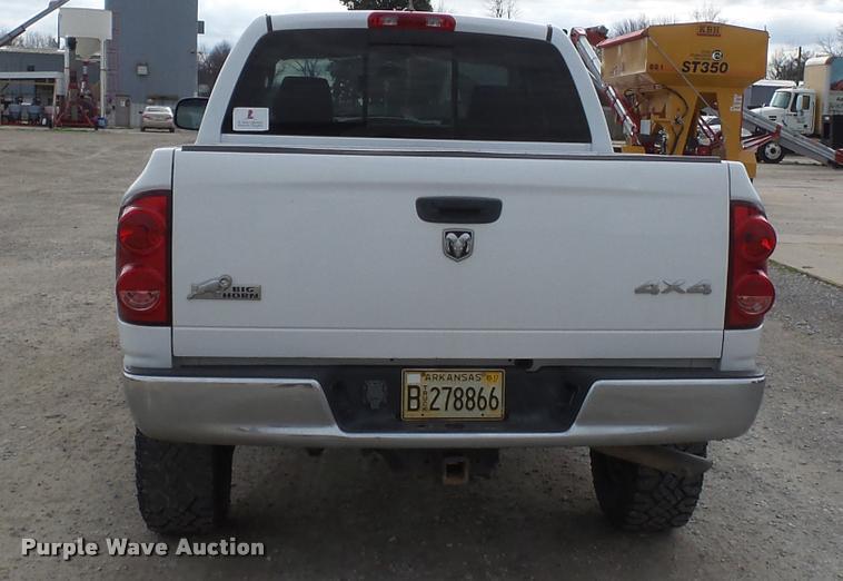 2008 Dodge Ram 2500 Quad Cab pickup truck | Item K3403 | SOL