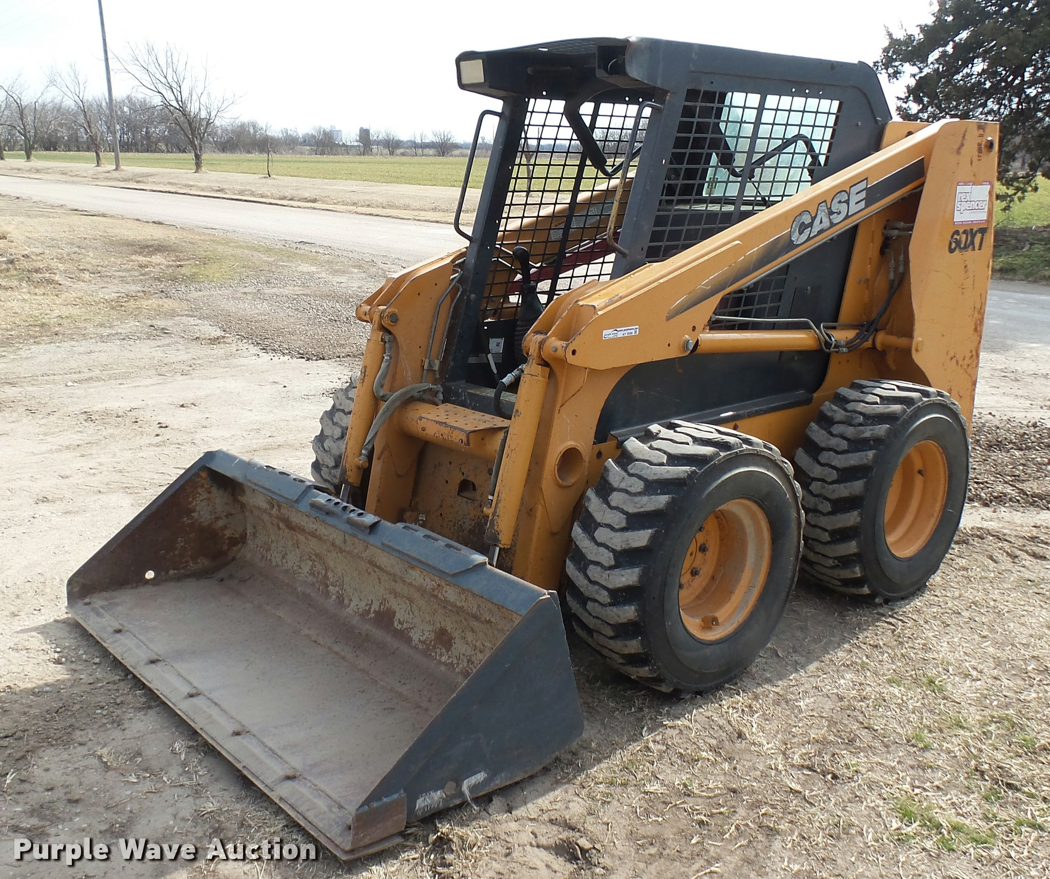2003 Case 60XT skid steer | Item AT9598 | SOLD! March 1 Vehi