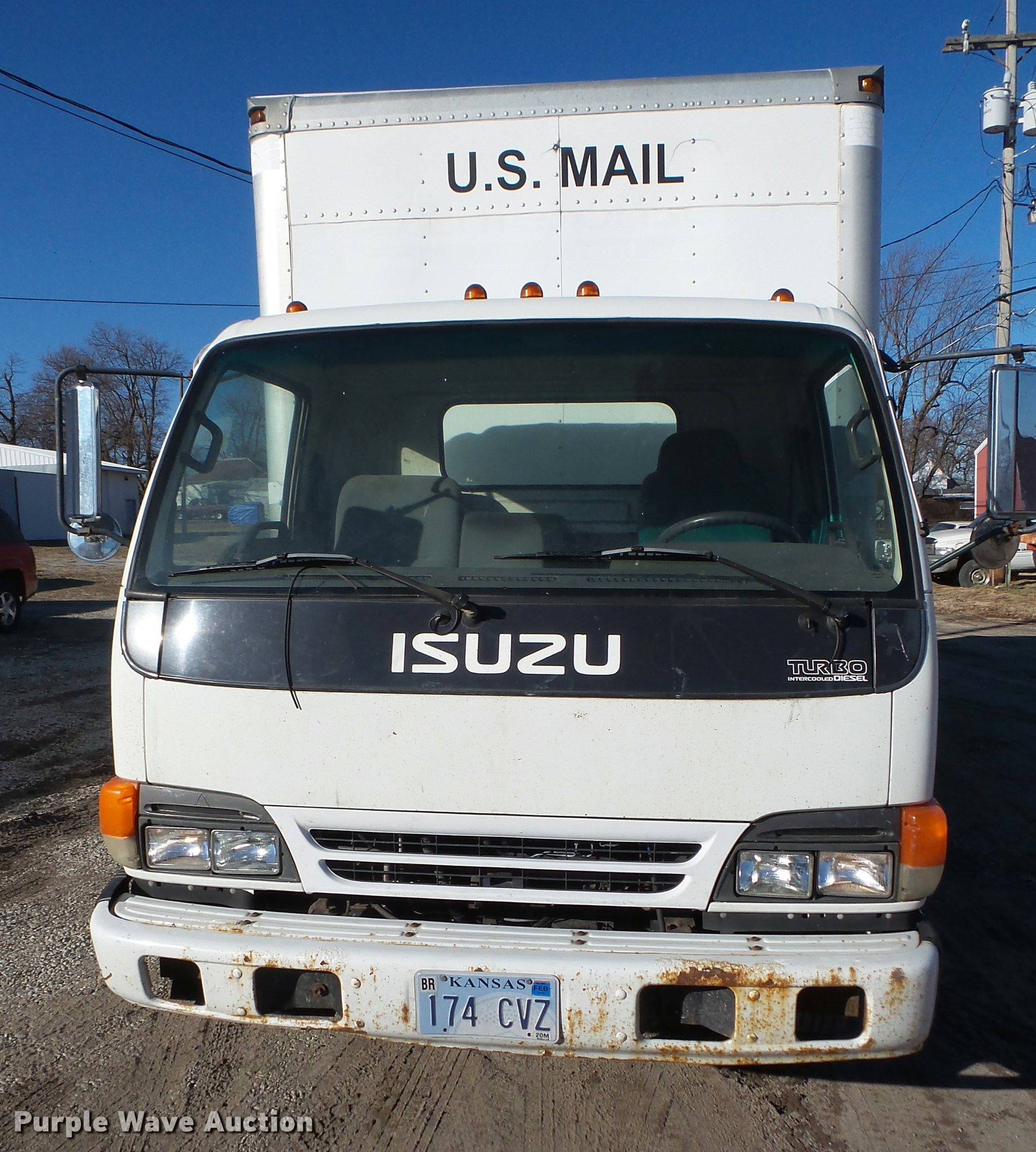 2003 Isuzu NPR HD box truck | Item DA7270 | SOLD! March 1 Ve
