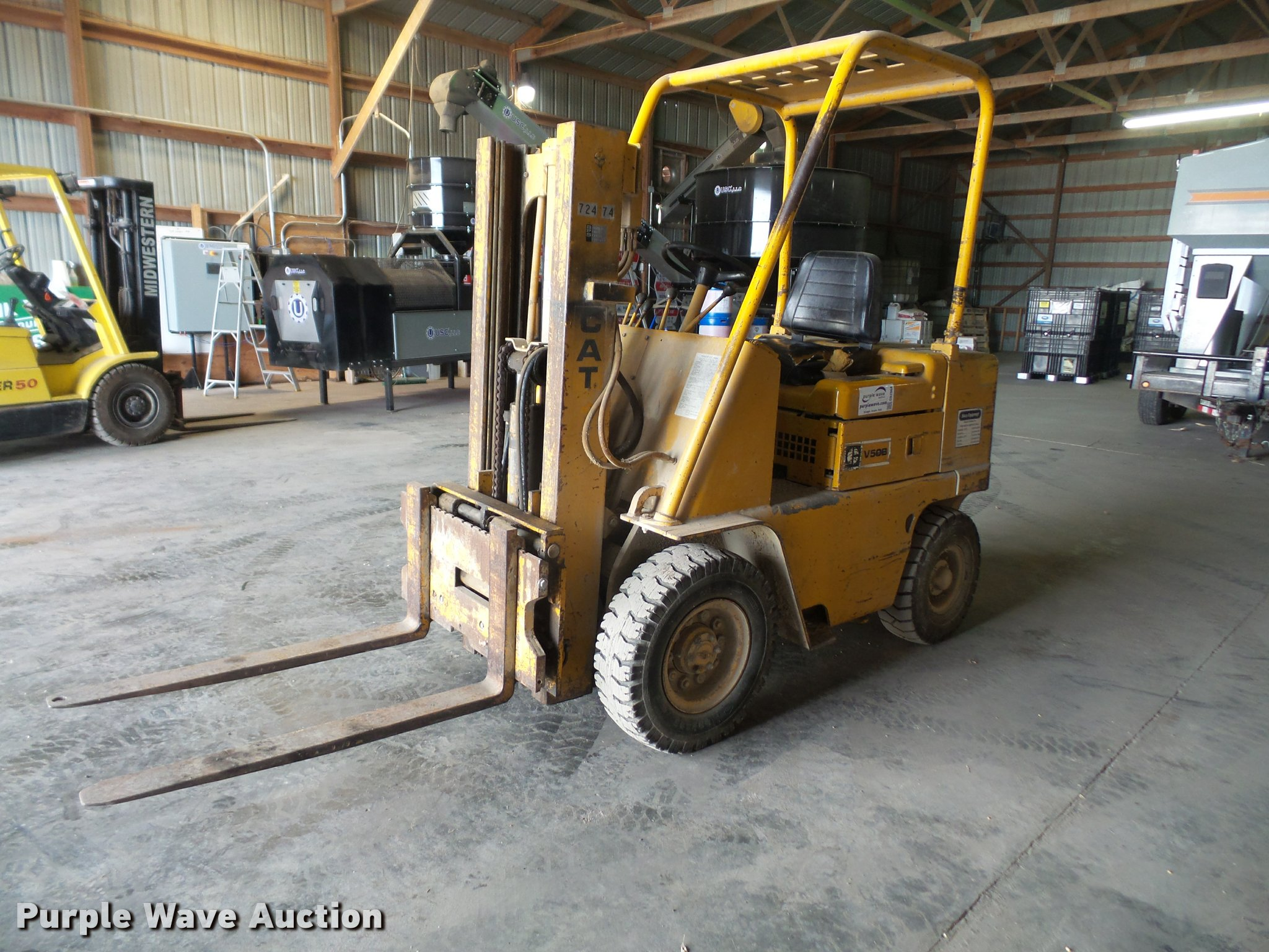 Caterpillar V50B forklift | Item DB2964 | SOLD! March 1 Vehi