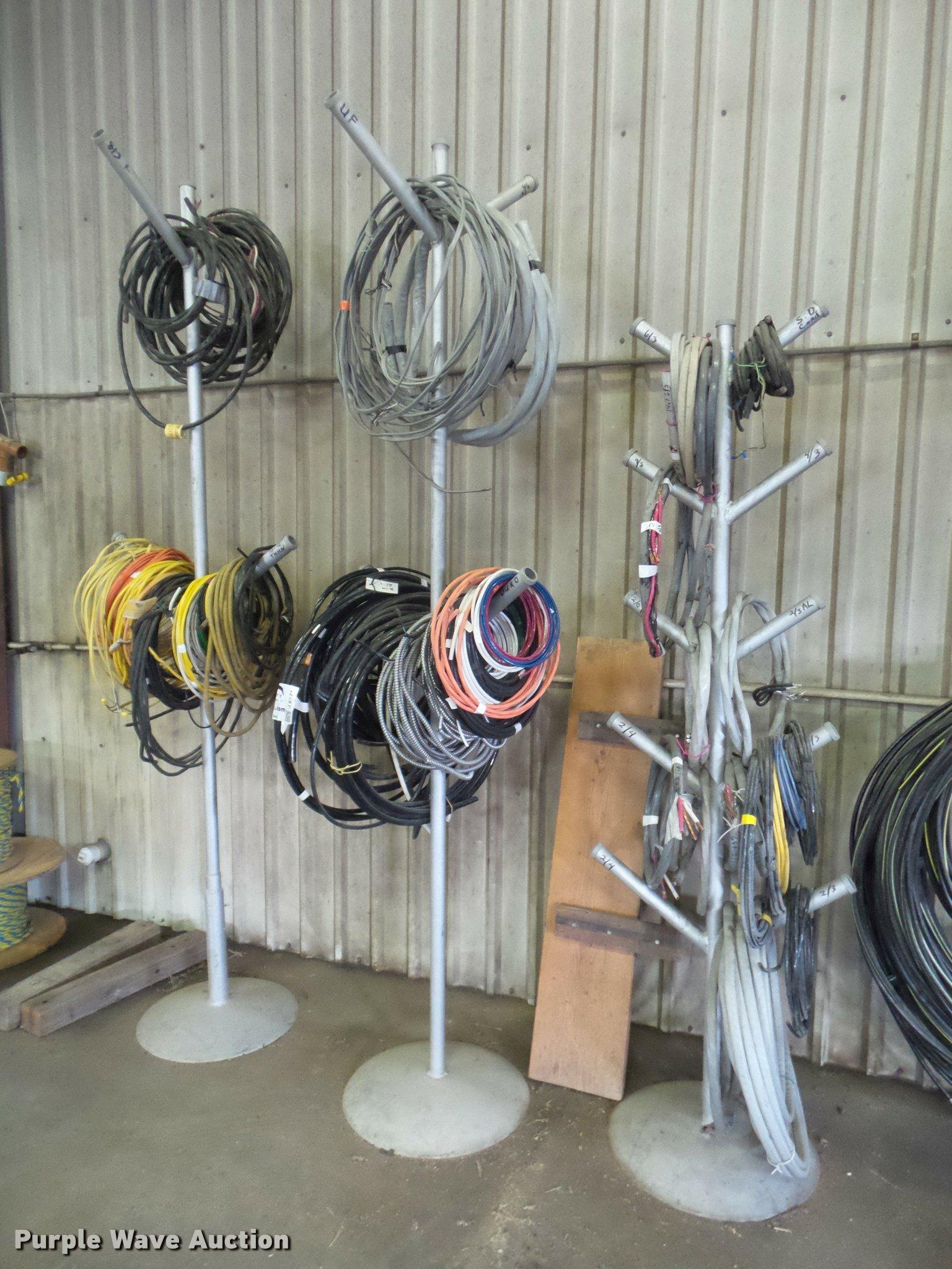 Flex Romex wire   Item J8771   SOLD! March 1 Vehicles and Eq...