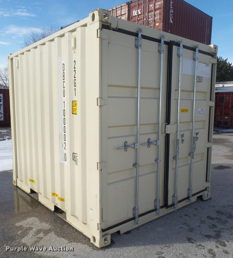 Storage container Item DA0525 SOLD March 2 Construction