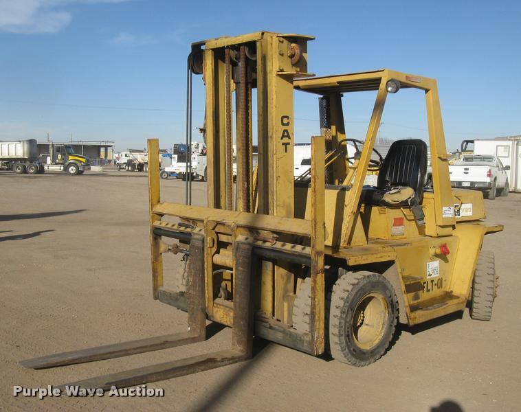 Caterpillar V120 rough terrain forklift | Item L3947 | SOLD!