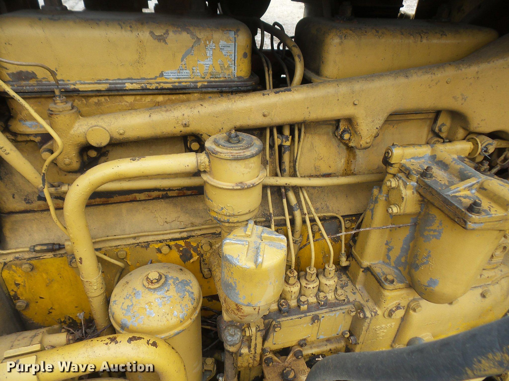 1965 Caterpillar D7E dozer | Item DB0748 | SOLD! March 2 Con