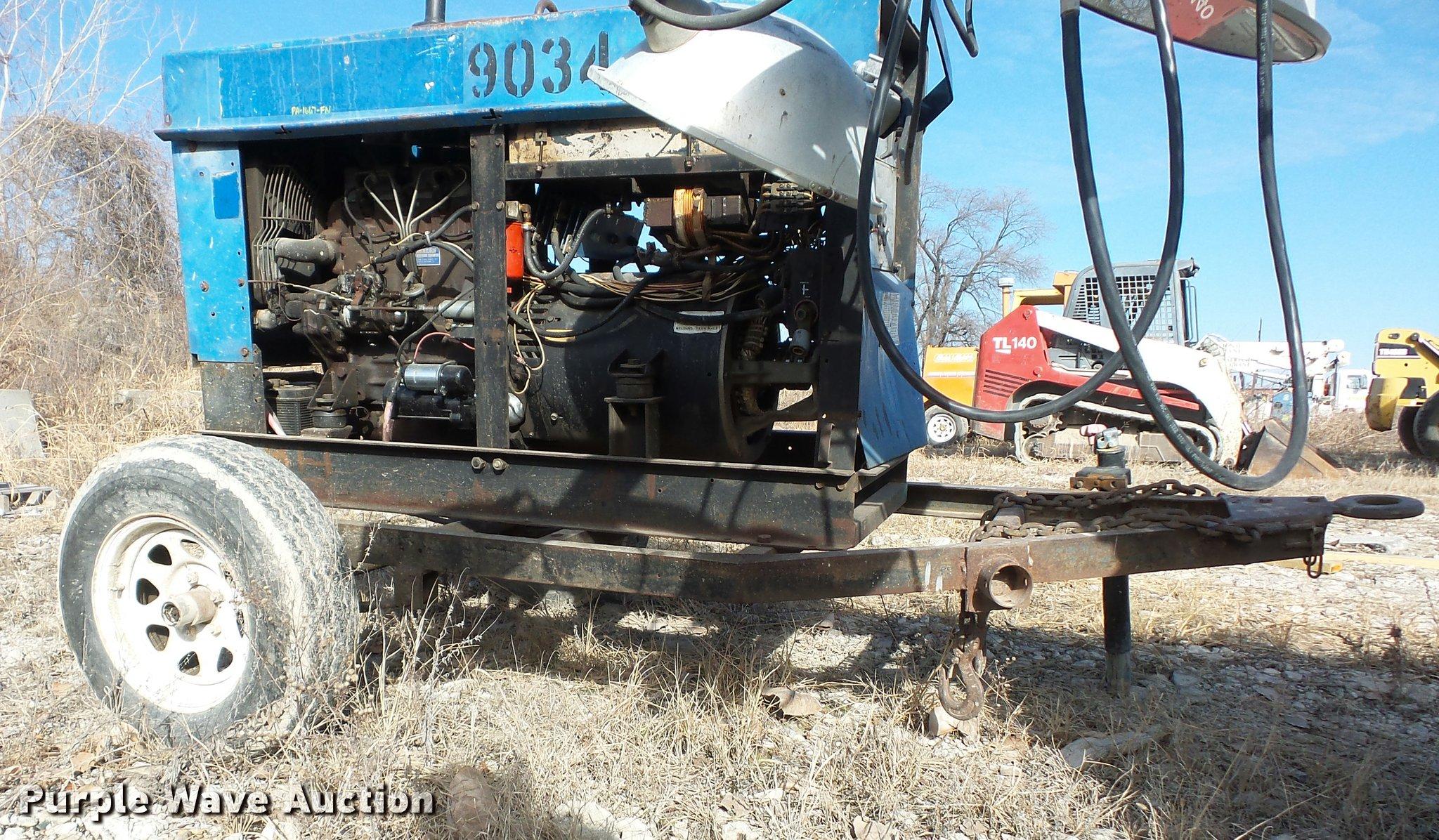 Miller Big 50 welder generator Item L4573