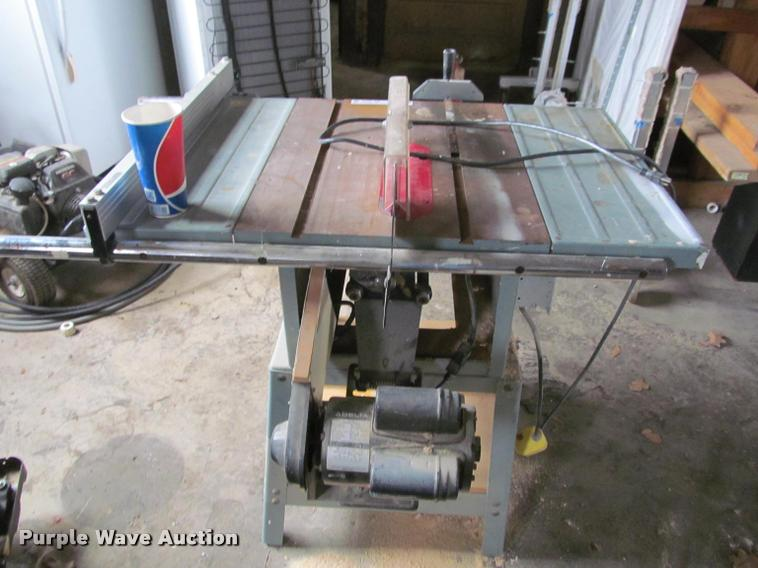 Delta Table Saw Item Bt9005 Sold March 7 Government Auc