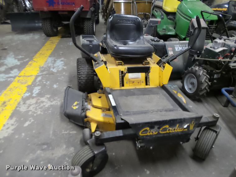 Cub Cadet Z Force Lawn Mower Item Bt9062 3 7 2017