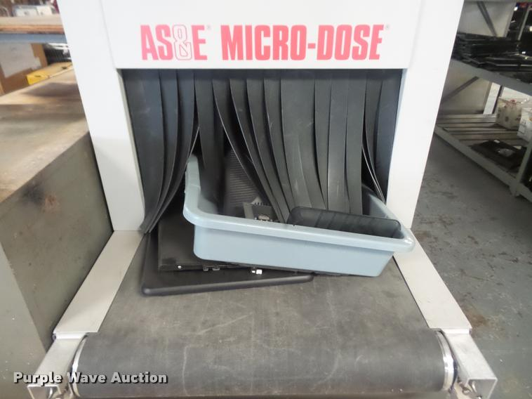 AS&E Micro-Dose airport luggage x-ray scanner | Item BW9