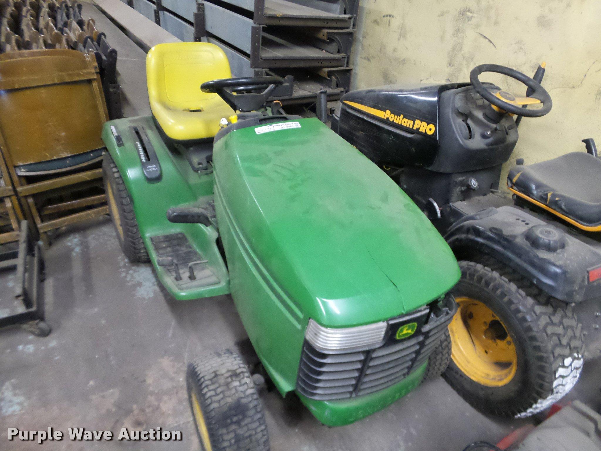 John Deere Gt235 Lawn Mower Item Bt9060 Sold March 7